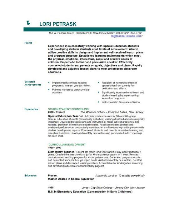 Resumescom resume sample law enforcement professional page 1 Teachers Cv Httpwwwteachers Resumescomau