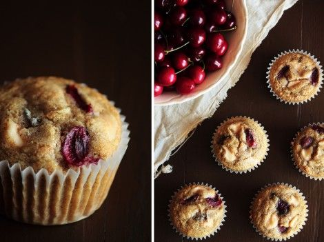 Cherry Cream Cheese Muffins | The Muffin Blog