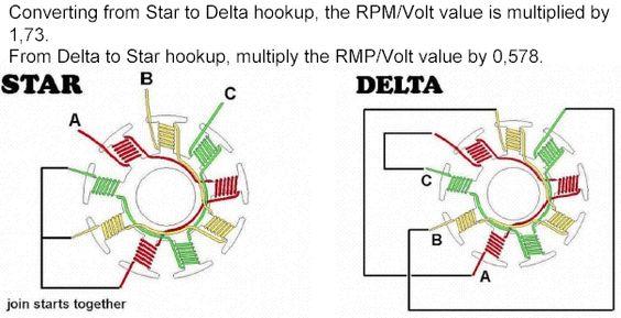Wye Delta Wiring Diagram Motor : Wye start delta run diagram electricalengineering eee