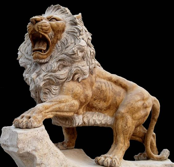 Find great deals on eBay for lion statue lion figurine ...