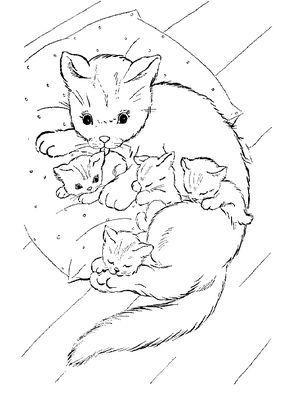 Ausmalbilder Katzen Fur Kinder Kinder Katzen Katzenbilder Malvorlagen Painting Ausmalen Ausmalbilder Katzen Ausmalbilder Katze Zum Ausmalen