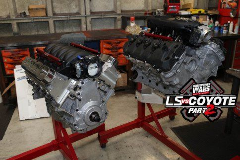 Ls Vs Coyote 2 Episode 1 The Supercharged Engine Shootout Ls Engine Engineering Gm Ls Engine