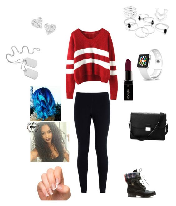"""Chill"" by brimariev ❤ liked on Polyvore featuring NIKE, Aspinal of London, Vivienne Westwood, Smashbox and Incoco"