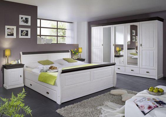 Porta-schlafzimmer-ein-Bett-aus-Holz-groß-1 Schlafzimmer Pinterest - möbel hardeck schlafzimmer