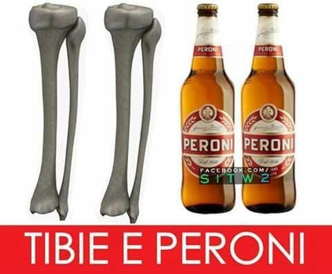 #giochi di #parole #beer #peroni #birra #tibie