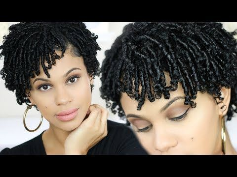 Learning How To Style Short Natural Hair At Home Can Be Hard If You Dont Know How To Take Care Of Short Natur In 2020 Natural Hair Styles Hair Without Heat