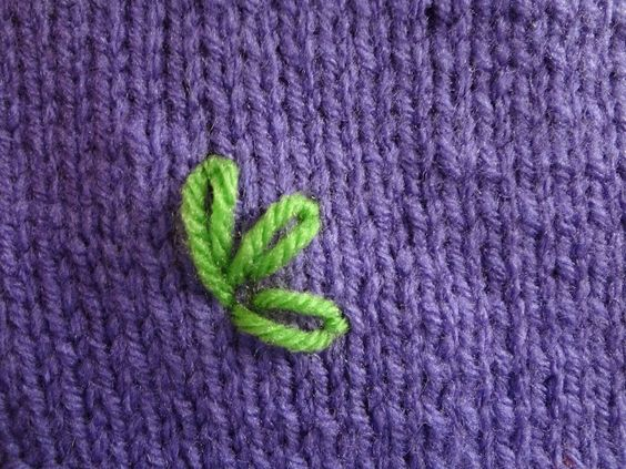 Fiber Flux: How To Embroider A Lazy Daisy