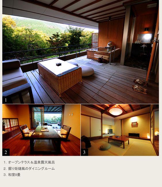 Sky Type   Guest room with open-air bath-Guestroom   Spa resort Miyanoshita Hakone Ginyu