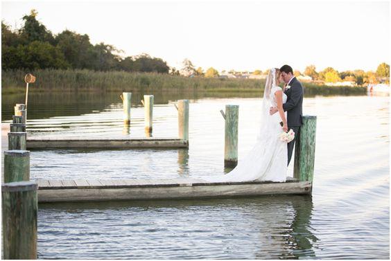 Kent Manor Inn Wedding Photographer - Eastern Shore Waterfront Sunset