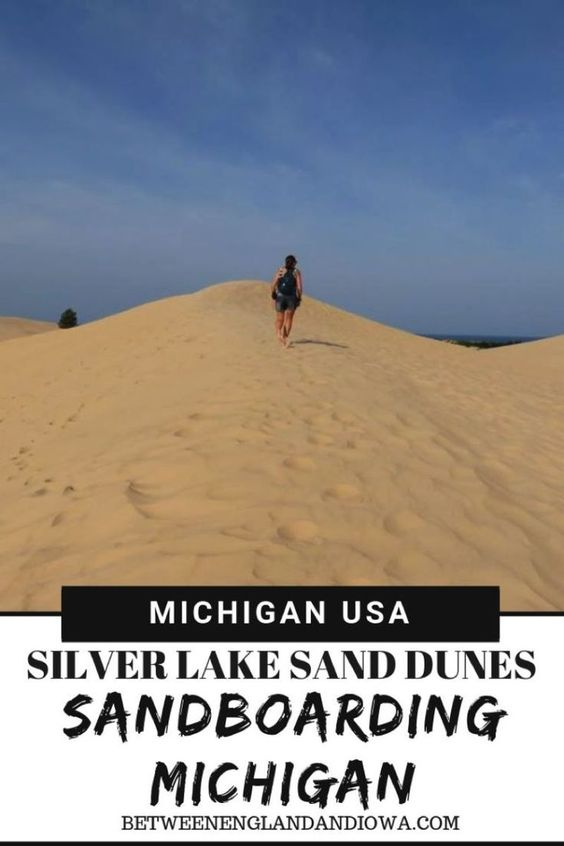 Sandboarding Michigan Did You Know That You Can Go Sandboarding In Michigan Usa Check Out Silver Lake Sand Dunes Sandboarding Silver Lake Sand Dunes Michigan