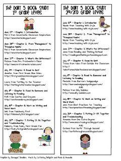 Daily 5 Book Study Bookmark FREEBIE