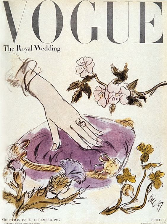 Vogue cover Dec 1947