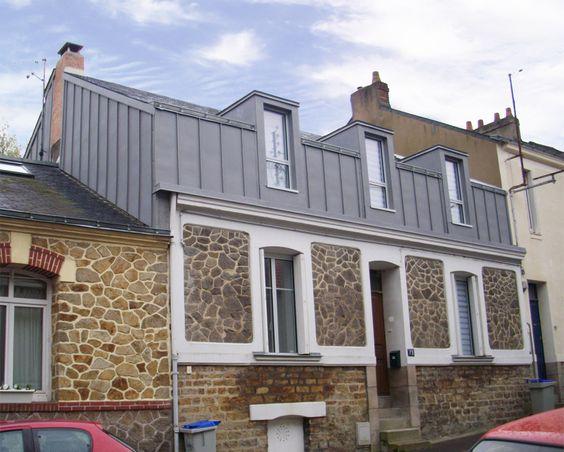 Charles geffroy architecte desa extension et for Extension maison 79