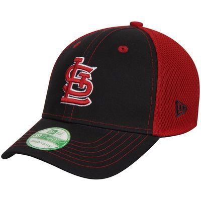 St. Louis Cardinals New Era Youth Team Front Neo 39THIRTY Flex Hat - Navy/Red