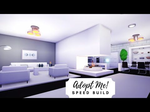 Modern Futuristic Home Speed Build Part 1 Roblox Adopt Me