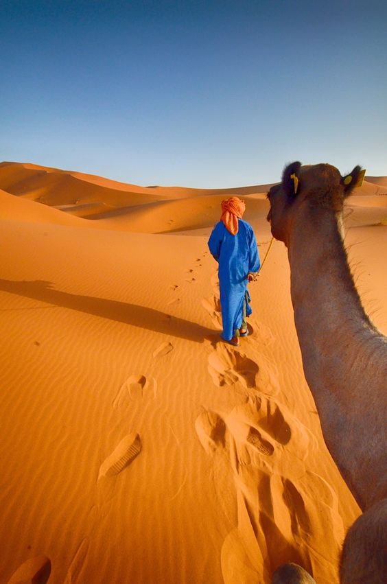 Sahara Desrt, Erg Chebbi, Merzouga, Morocco