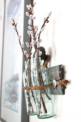 #diy hanging vase pretty and repurposed