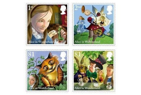 sello postal literatura infantil - Buscar con Google:
