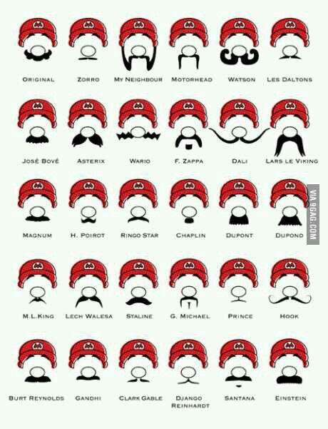 Mario-staches