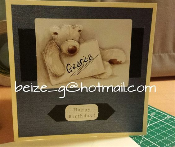 Birthday card for Granda | docrafts.com