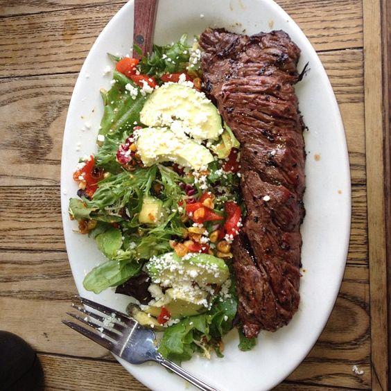 Yum..........tex mex steak breakfast in #brooklyn