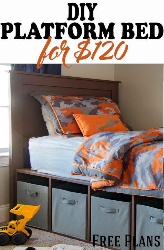 Diy Platform Bed Frame Diy Platform Bed Frame Diy Platform Bed