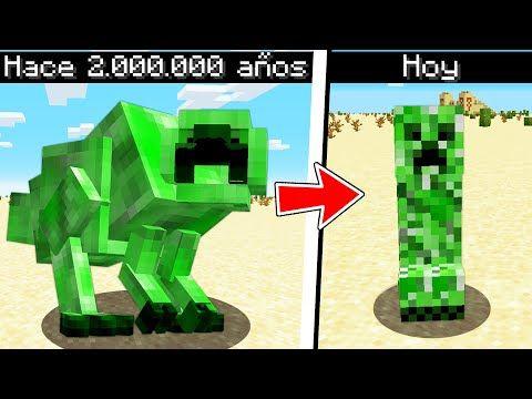 Asi Eran Los Mobs Hace Millones De Años En Minecraft Youtube Minecraft Youtube Minecraft Trucos De Minecraft
