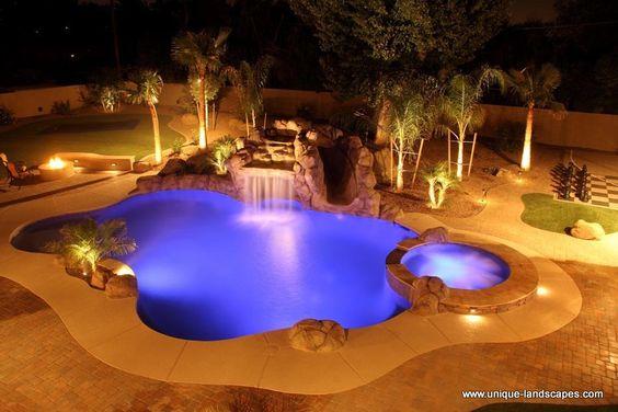 Phoenix custom spas jacuzzis whirlpools photo gallery for Pool design phoenix