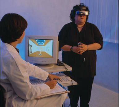 """Cybertherapy """"information about the use of advanced technologies - virtual reality, mixed reality, interreality, ambient intelligence - in health care. The site is aimed at a scholarly audience interested in the effects, efficacy and general influence deriving from the application of these technologies in medicine and in psychology, with respect to public health including financial and usability aspects."""""""