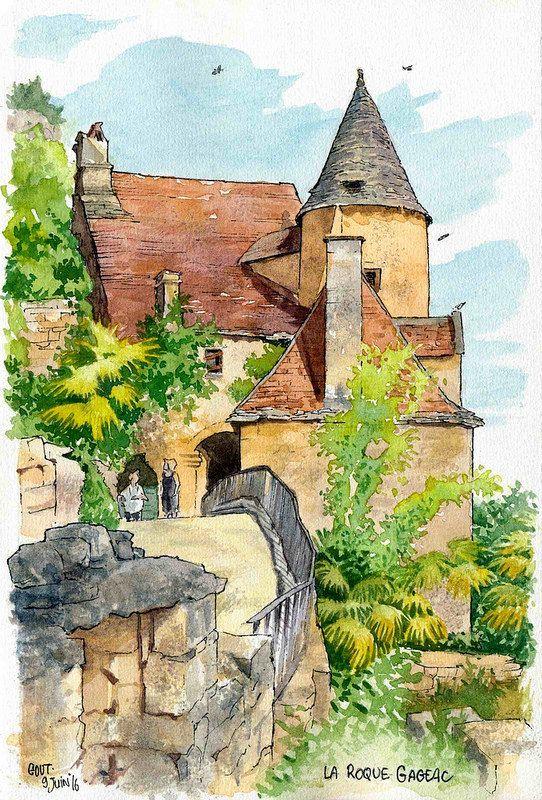La Roque Gageac petite tour | du manoir de Tarde ^_^ Install… | Flickr
