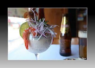 Leche de tigre, comida peruana.