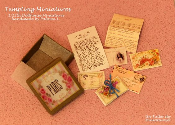 Romantic Mail Box 1:12th by TemptingMiniatures  ♡ ♡