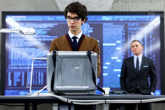Ben Whishaw stars as Q in the Bond film Skyfall.