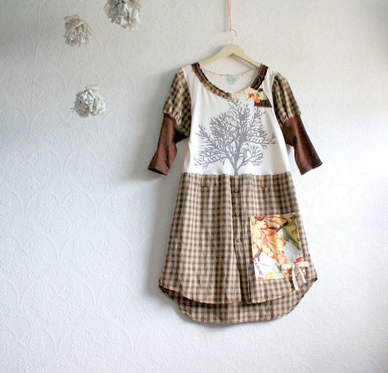 upcycled: Dress Shirt, Chic Upcycled, Upcycled Dress, Dresses From T Shirts, Little Girl Dresses
