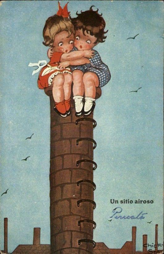 Chicky Sparks c1910 postcard | eBay: