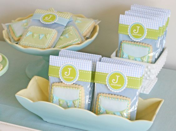 Glorious Treats: Baby Bunting Cookies  Baby Shower Ideas