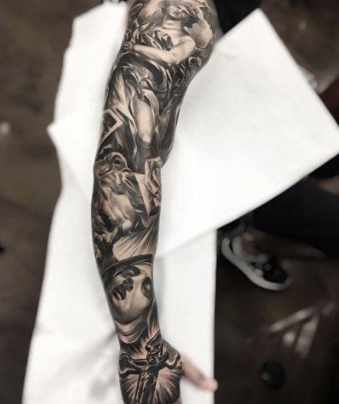 60 Amazing Sleeve Tattoo Ideas For Men Sleeve Tattoos Full Sleeve Tattoo Design Tattoo Designs