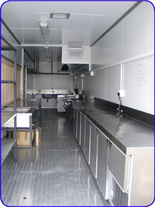Shipping Container Kitchen | Kitchen On Wheels | Pinterest | Ships, Kitchens  And Food Truck