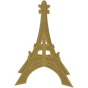 3D French Eiffel Tower Centrepiece