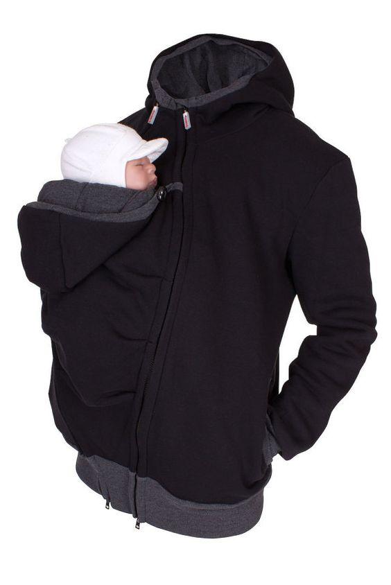 BRAND NEW <3 Viva la Mama | Baby wearing jacket for men! The casual handmade…