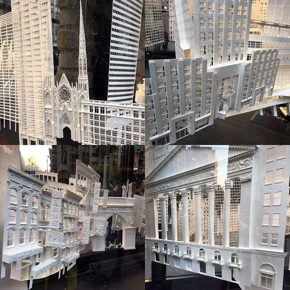 """4l3x4nd3r92: """"#art #flatironbuilding #flatirongallery #newyork #paperart"""""""