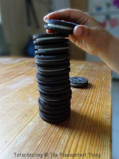 8 Oreo learning activities! - yummy way to learn!