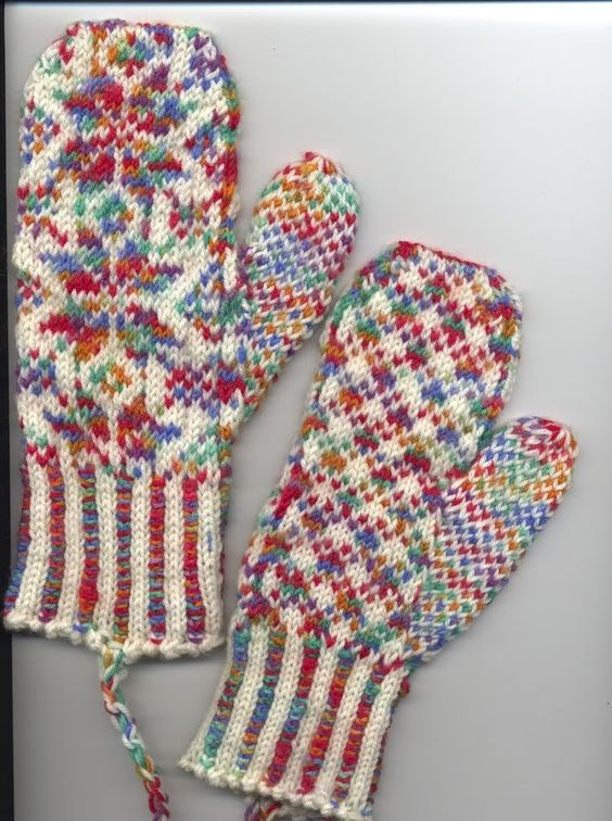Made from superwash wool leftovers | Mittens I Like | Pinterest ...