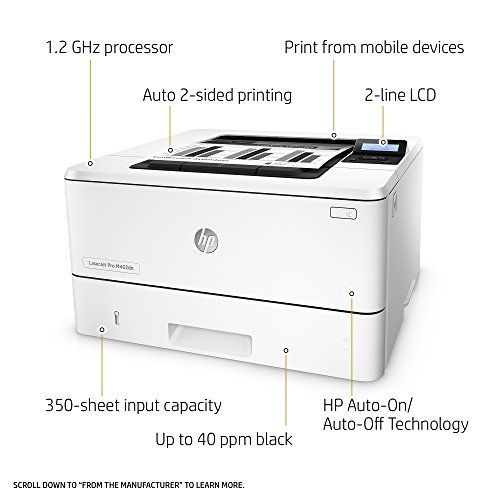 Hp Laserjet Pro M130fw All In One Wireless Laser Printer Amazon Dash Replenishment Ready G3q60a Replaces Hp M127fw Laser Printer With Images Laser Printer Printer Mobile Print