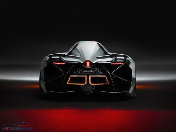 Lamborghini Egoista Engine