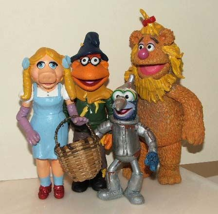What is it about the Wizard of Oz?: Muppets Wizard of Oz Toys