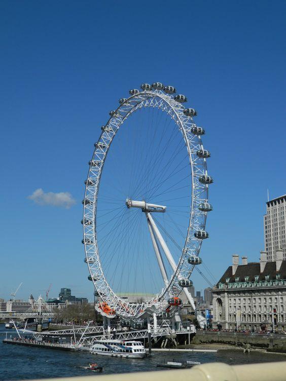 The London Eye.  FRIKIN AWESOME!!