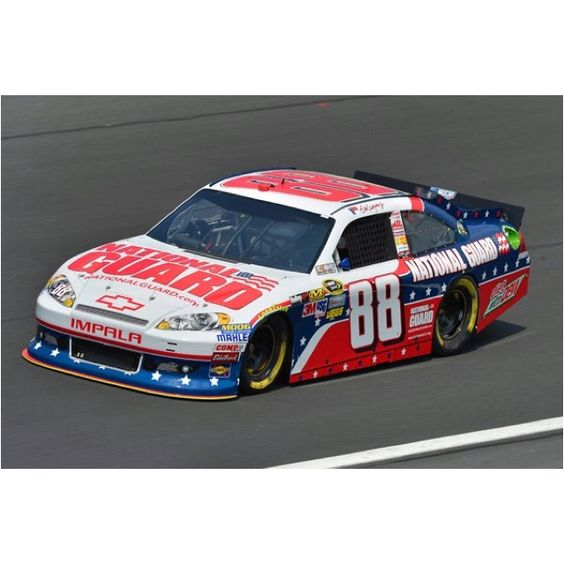 Patriotic car for the Coca Cola 600 at Charlotte! Dale Earnhardt Jr.