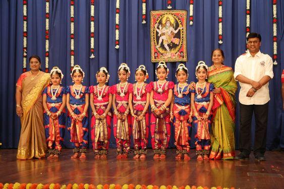 Director Bhagyaraj at Toshini salangai pooja Bharathanatyam Function