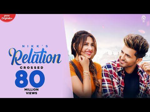 Relation Nikk Ft Mahira Sharma Official Music Video Youtube In 2020 Youtube Videos Music Music Videos Relatable